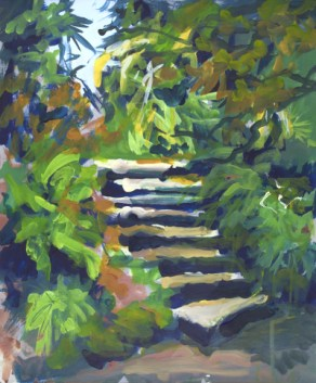 Kilmacurragh Botanical Stairs