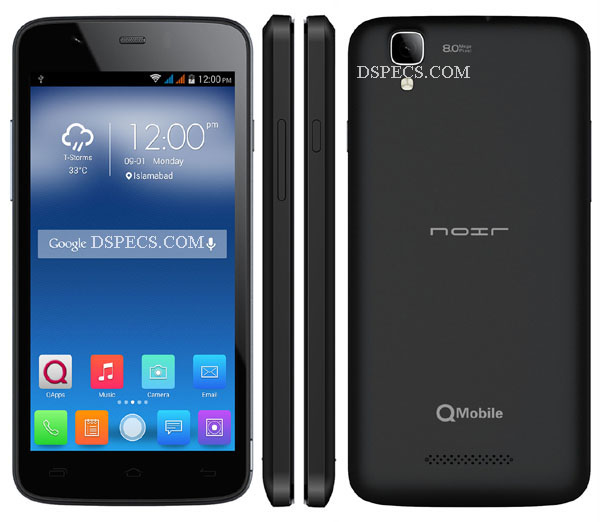QMobile Noir X500 Price in Pakistan