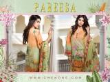 Pareesa by Chen One Spring Summer Lawn Collection 2016