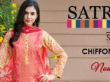 Satrangi Red Color Suits