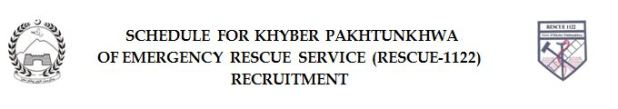 rescue 1122 kpk jobs 2016