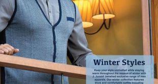 Junaid Jamshed winter men collection 2016-17
