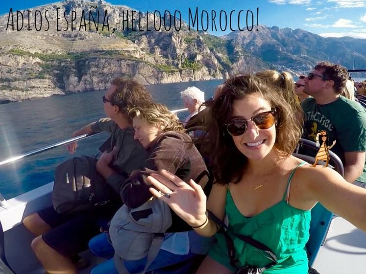 Adios España, heló Morocco!