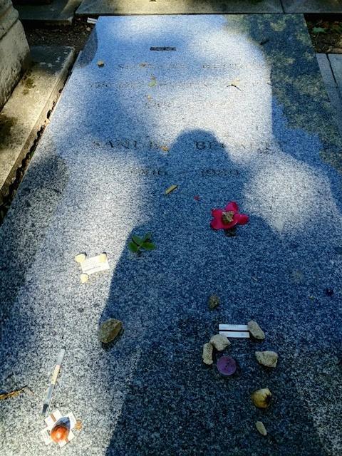 Samuel Beckett grave