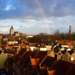 Rainbows over Bruges