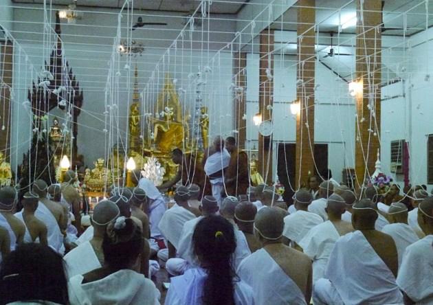 Стать монахом в Таиланде