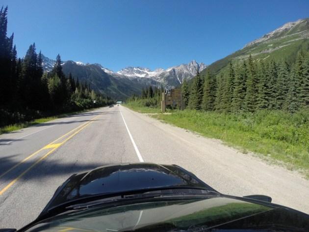 На автомобиле по Канаде