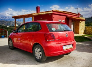 Аренда автомобиля и дороги на Крите