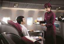 Qatar Airways бизнес класс Москва - Куала Лумпур