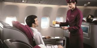 Qatar Airways бизнес класс Москва - Куала Лумпур
