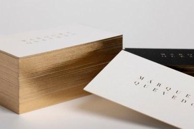 04-Marquez-Quevedo-Branding-Gold-Foiled-Business-Cards-La-Tortillería-BPO