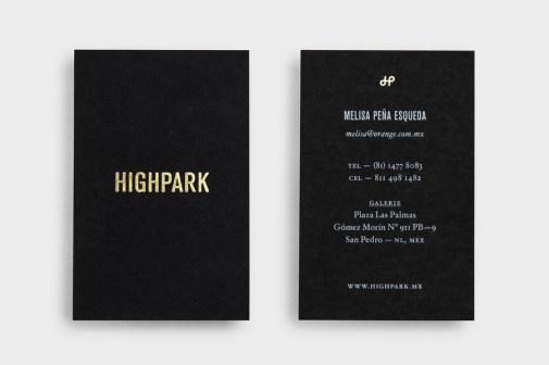 20-Highpark-Gold-Foil-Black-Business-Cards-Face-BPO1