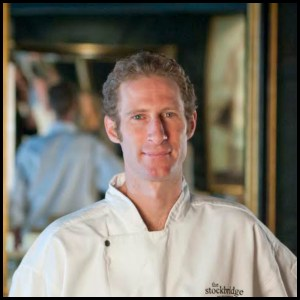 Jason Gallagher, Chef Patron at the Stockbridge Restaurant