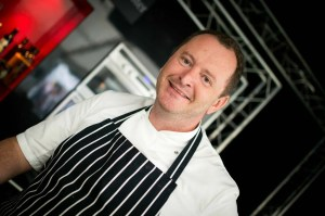 The pudding maker, Chef Neil Forbes.