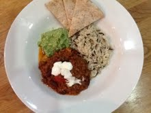 Chilli Con Carne makes a healthy & filling meal with a few additional accompaniments
