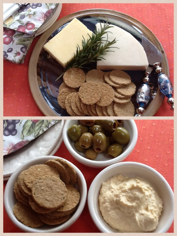 The 'Groaties' & mini oatcakes are ideal with cheese and other savoury food.