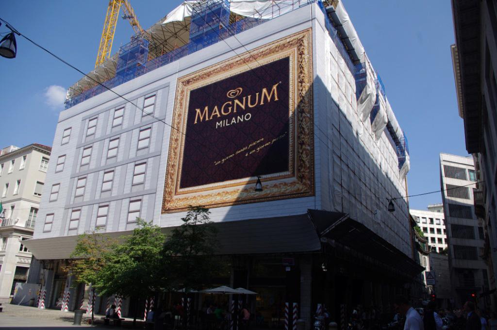 Kreiere dein eigenes Eis! Der Magnum Pleasure Store in Mailand