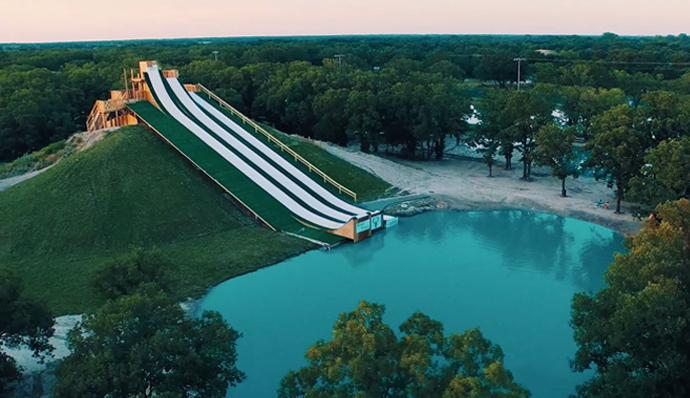 Die beste Wasserrutsche der Welt?