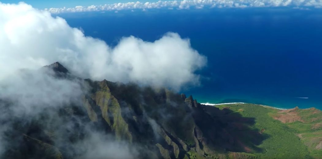 Kauai from the air Screencap 3