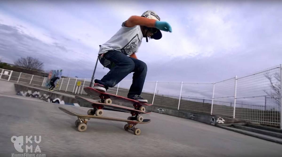 12-Jähriger skatet wie ein junger Gott