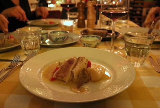 Restaurant Marius - Amsterdam Restaurant in West - fish dish
