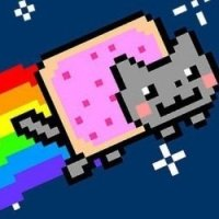 Rainbow Nyan Cat Plush Toy
