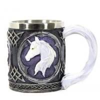 Mug with White Unicorn