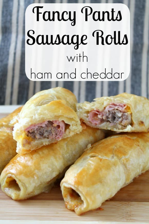 Fancy Pants Sausage Rolls with Ham and Cheddar | How to be awesome on ...