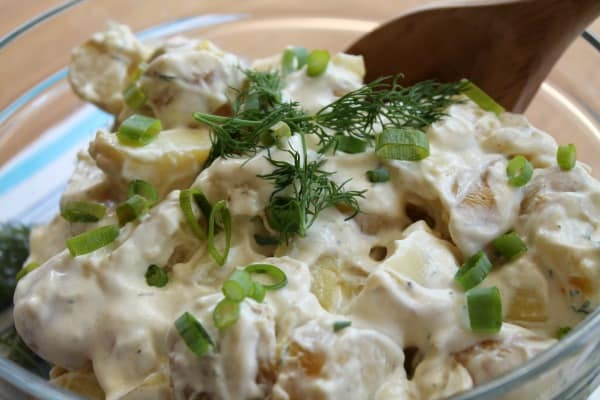 Dill Potato Salad   How to be Awesome on $20 a Day