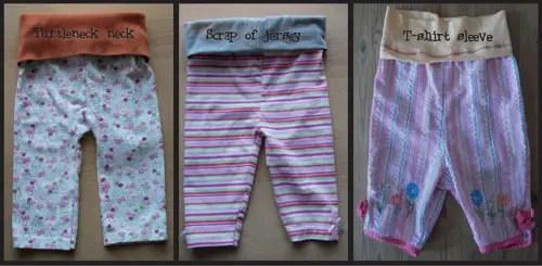 Make baby's pants comfy