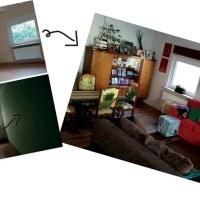 My DIY Upcycled Vintage Living Room