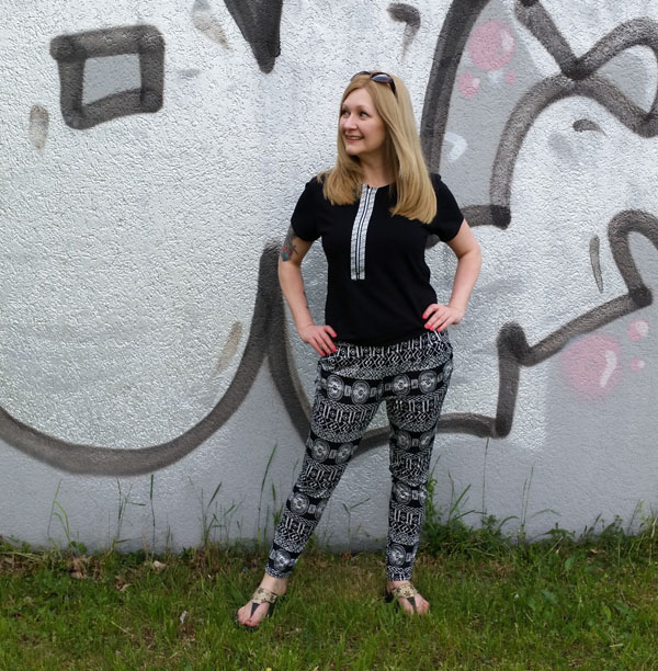 A Quick Refashioned Jumpsuit