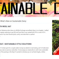 Totally Smitten With Sustainable Daisy