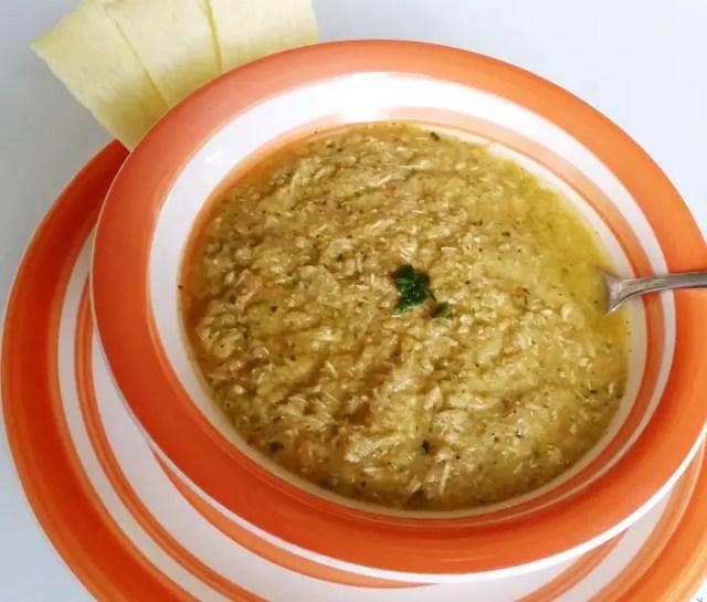 An Easy Overripe Veggie Soup Recipe