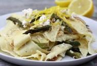 Lemon Ricotta Asparagus Pasta (dairy-free)
