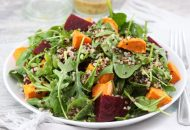 Sweet Potato Beet Quinoa Salad