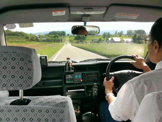 北海道6月美瑛-計程車