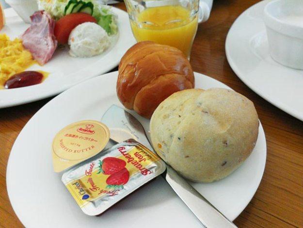 北海道富良野飯店Furano Natulux Hotel早餐麵包