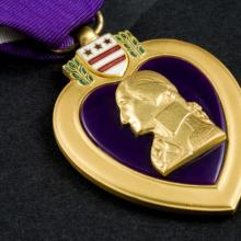 Herman Johnson waited a half a century for this medal to find it's rightful owner