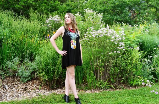 zulily pineapple dress