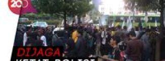 Aksi demo KPU