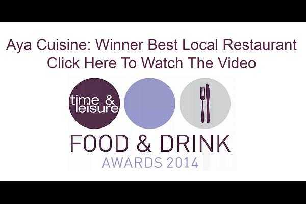 Aya Food Awards 2014 Video