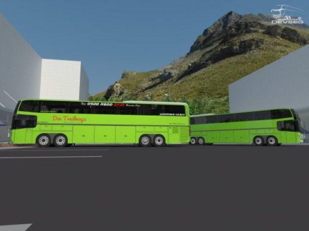 Desain bus GV Costume