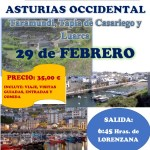 Bando excursion Asturias Occidental