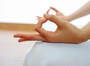 yoga and Gyan mudra