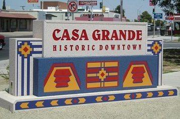 Casa Grande sign