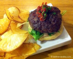 La Brunilda mini beef burger