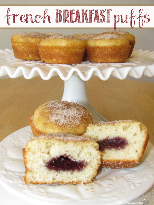 Guest Post: French Breakfast Puffs from Sugar Blossoms - Scattered ...