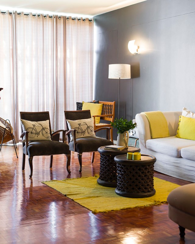 Home tour our jozi apartment a zesty life for Living room jozi