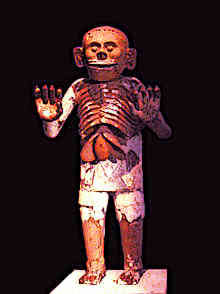 Aztec-Artifacts-Mictlantecuhtli-Clay-Fired-Statue-Templo-Mayor